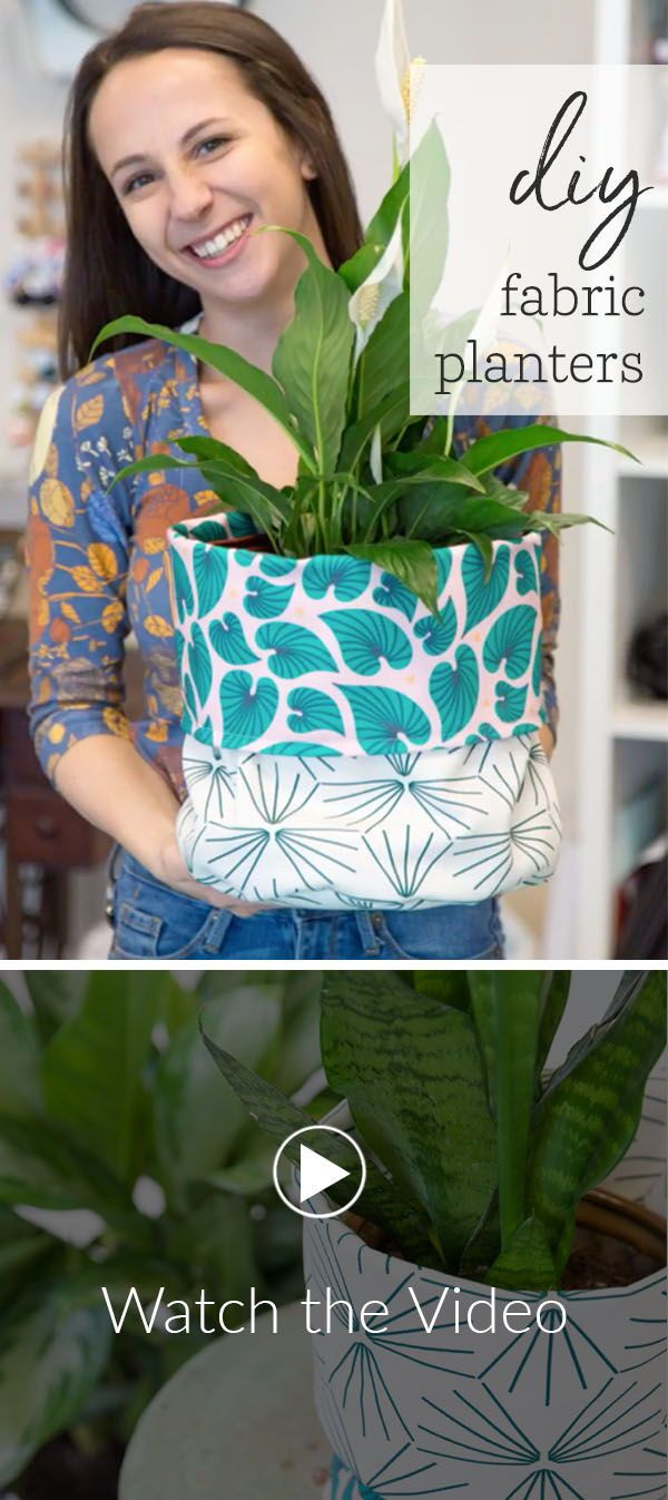 Brighten Up Your Houseplants With Diy Fabric Planters 640 x 480