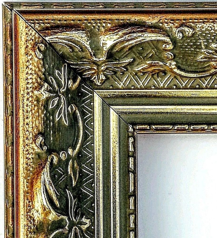SALE* 40 ft Arquadia Ornate Gold Picture Frame Moulding, Victorian ...