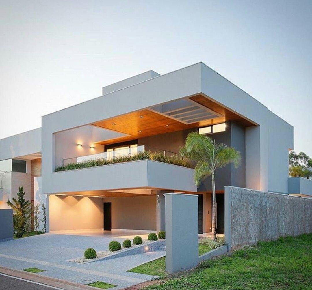 新築住宅の外観アイディア10選 箱型なナウトレンドデザイン: 2019 年の「Dálber Agüero Arquiteto