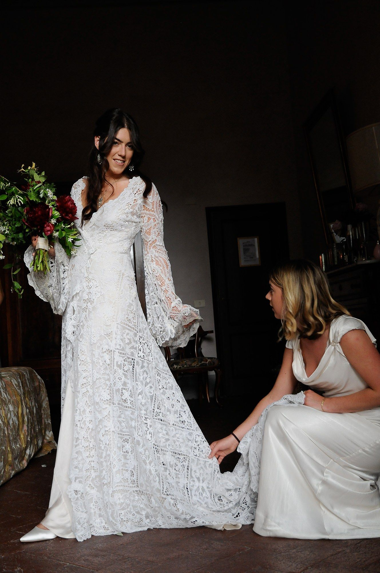 Grandeur and Style Prevailed at Amber Guinness's Wedding