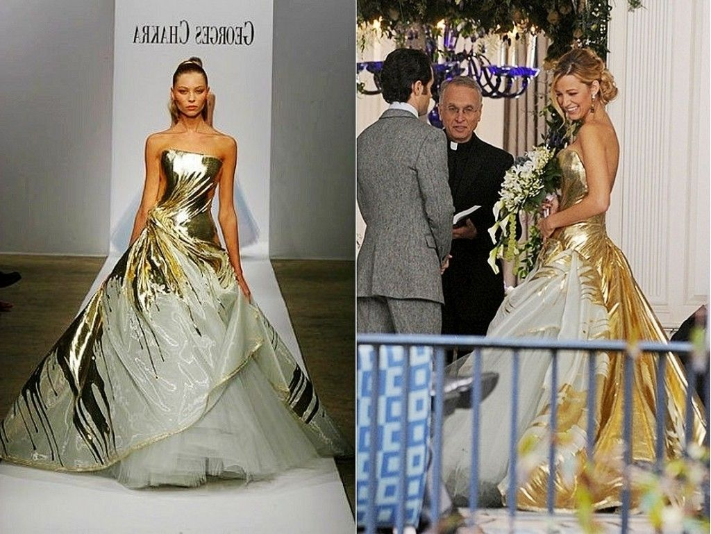 Blake Lively Wedding Dress Photos