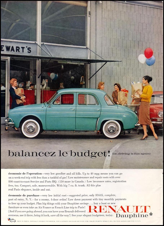 parts car vintage renault