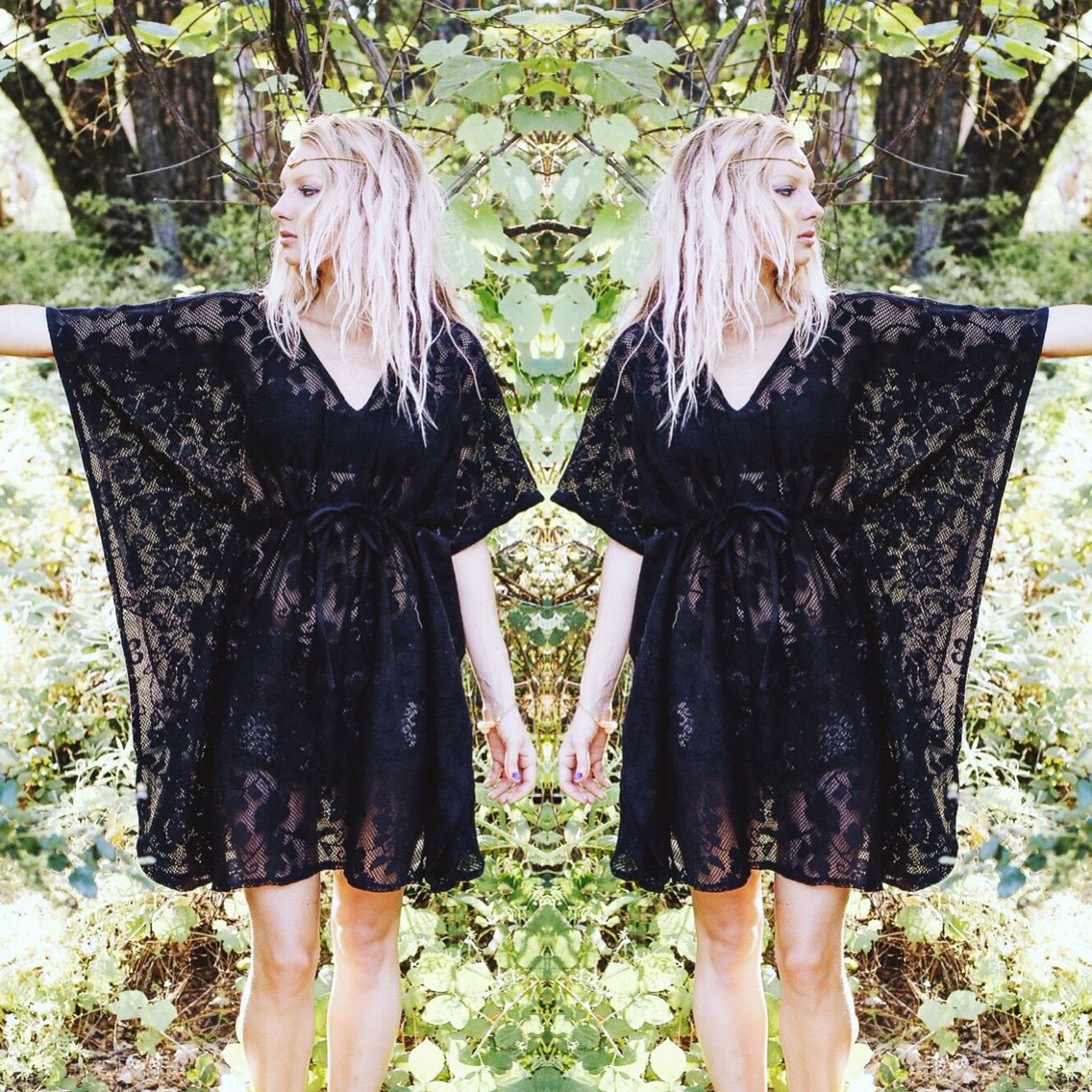 Beach Cover Up, Boho Caftan, Lace Poncho, Gypsy, Festival clothing, Bohemian, Hippie, Kaftan, Sexy Cover Up, Ceremony Dress by BlondeVagabond on Etsy https://www.etsy.com/listing/155036818/beach-cover-up-boho-caftan-lace-poncho