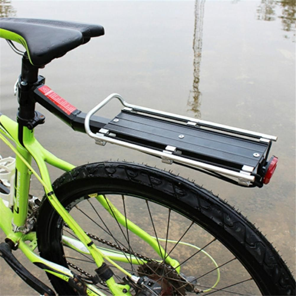 Aluminum Alloy Bicycle Luggage Rack Bike Carrier Cargo Rear