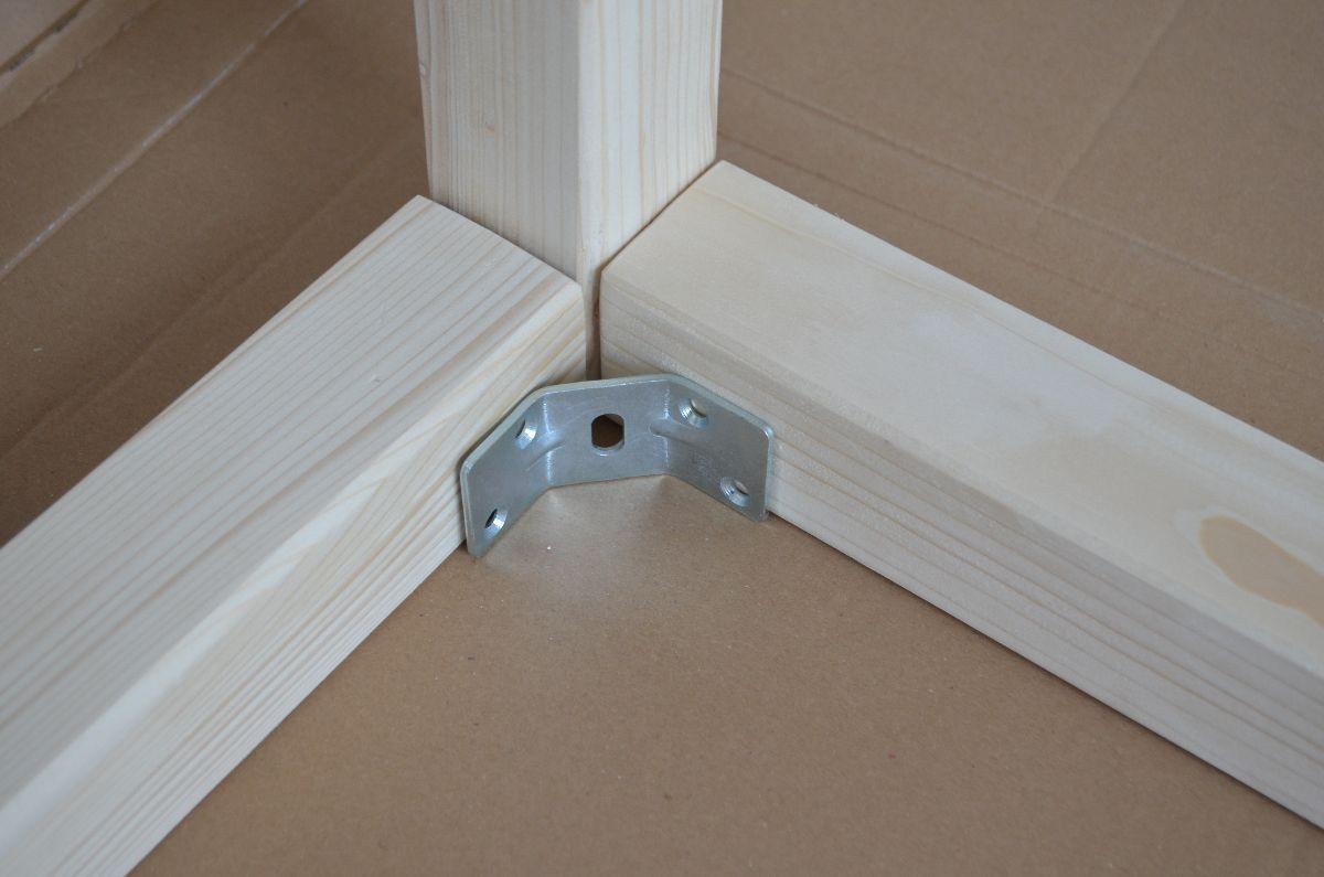 kinderbett selber bauen xxl hausbett bauanleitung basteln pinterest cama montessori cama. Black Bedroom Furniture Sets. Home Design Ideas