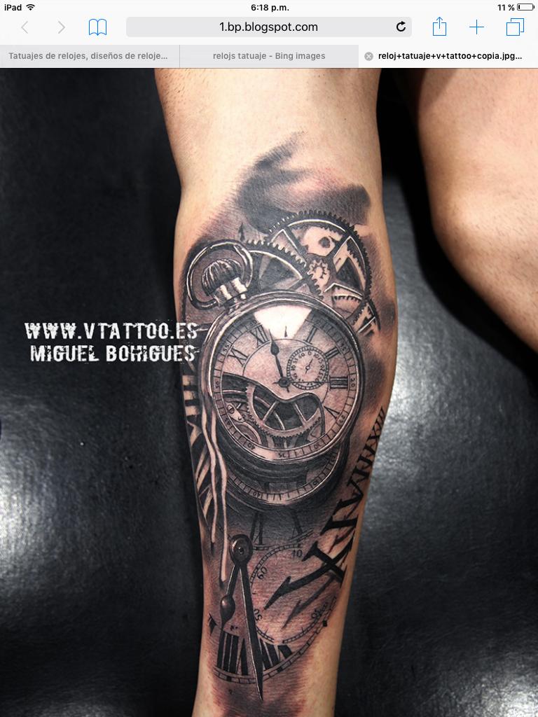 43b5a06eb Nice tattoo | tattoos | Watch tattoos, Pocket watch tattoos, Tattoos