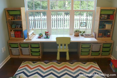 how to create a playroom - Kids Room Desk Ideas
