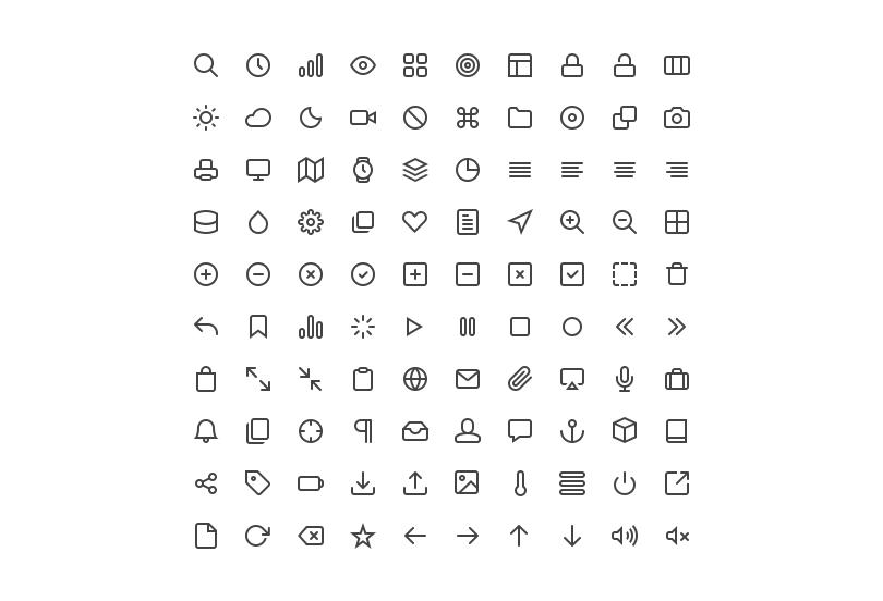 Feather 130 Free Icons Feather Icon Line Icon Icon Set