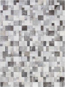 Brilliant grey cloak rug