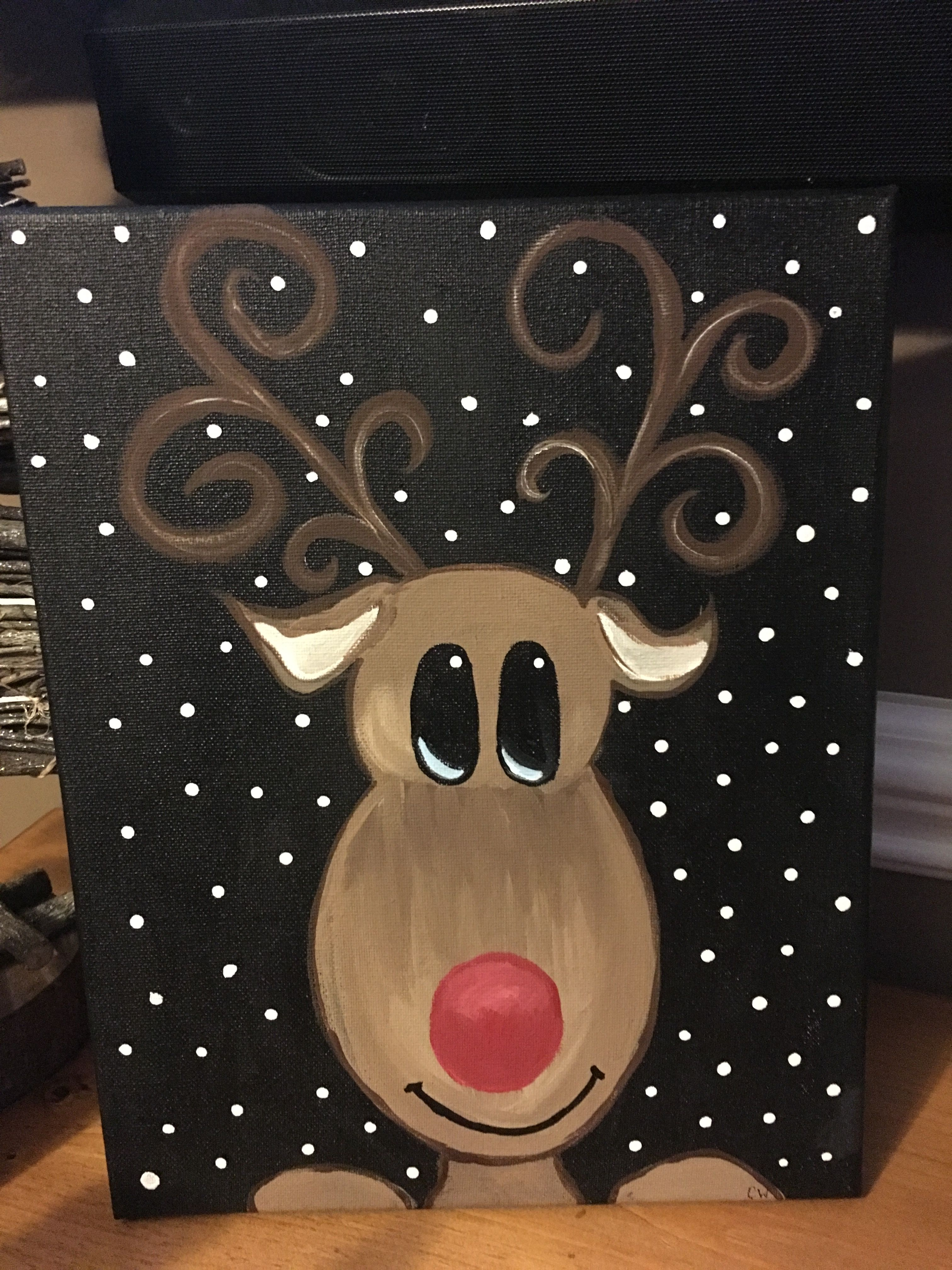 Paintings To Try Christmas Canvas Christmas Canvas Art