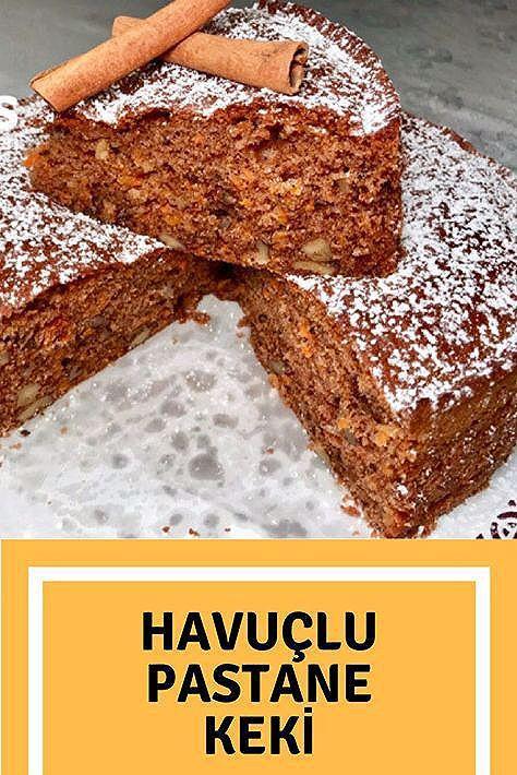 Photo of Havuçlu Pastane Keki – Nefis Yemek Tarifleri