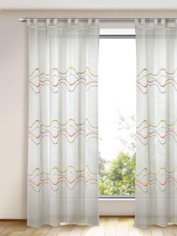 Junges Wohnen Moderne Gardinen Mit Schlaufen Gardinen Outlet Com Home Decor Curtains Decor