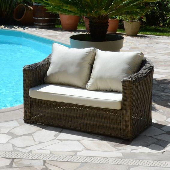Canapé Capri Taupe - 2 places : choisissez parmi tous nos produits ...