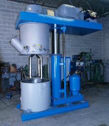 100 gallon ross double mixer s/s vacuum