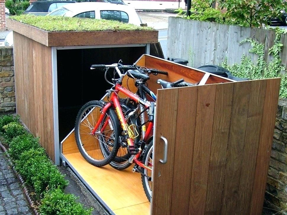 Outdoor Bike Storage Ideas And Backyard Bike Storage Large Size Of Home Backyard Storage Sheds Placing Outdo Outdoor Bike Storage Shed Design Outdoor Solutions