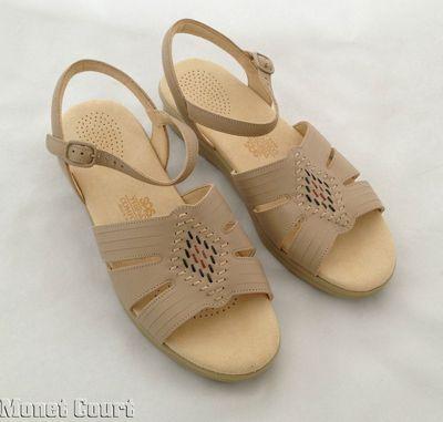 SAS Huarache Natural Woman's Sandals 9M New