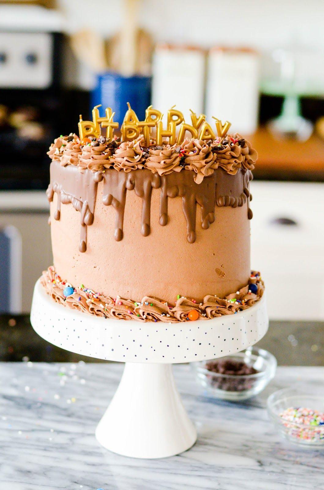 Half Size Birthday Cake Cake Pinterest Cake Birthday Cake And