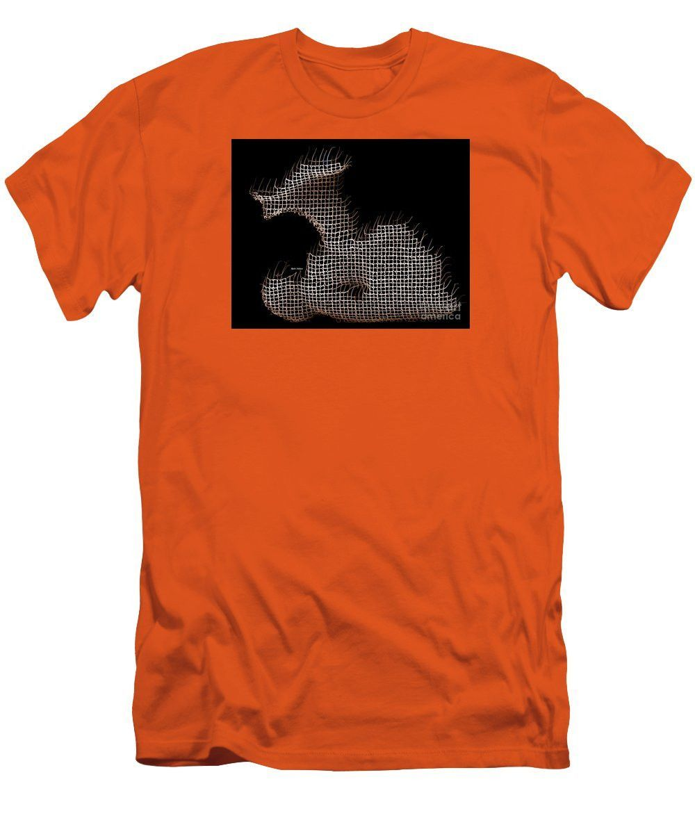 Men's T-Shirt (Slim Fit) - Abstract In The Wired