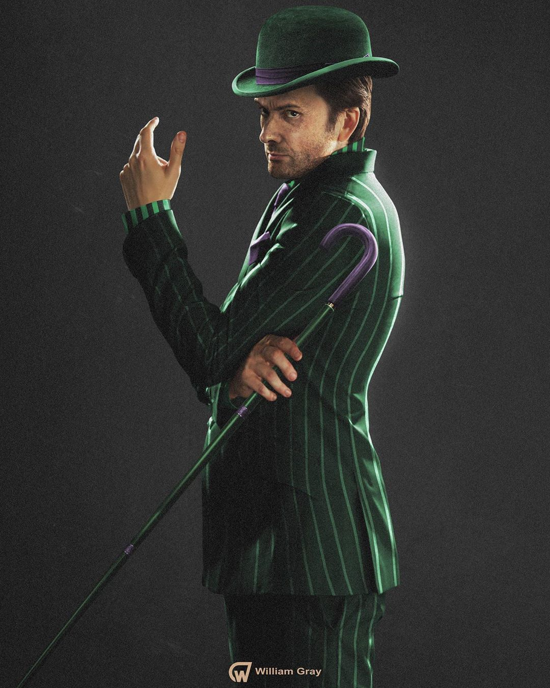 Quick 35 minute edit of David Tennant as the Riddler