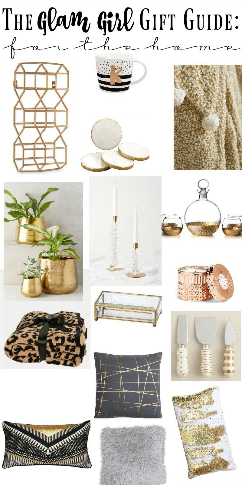The Ultimate Glam Girl Gift Guide 2016 | Girl gifts, Bliss and Gift