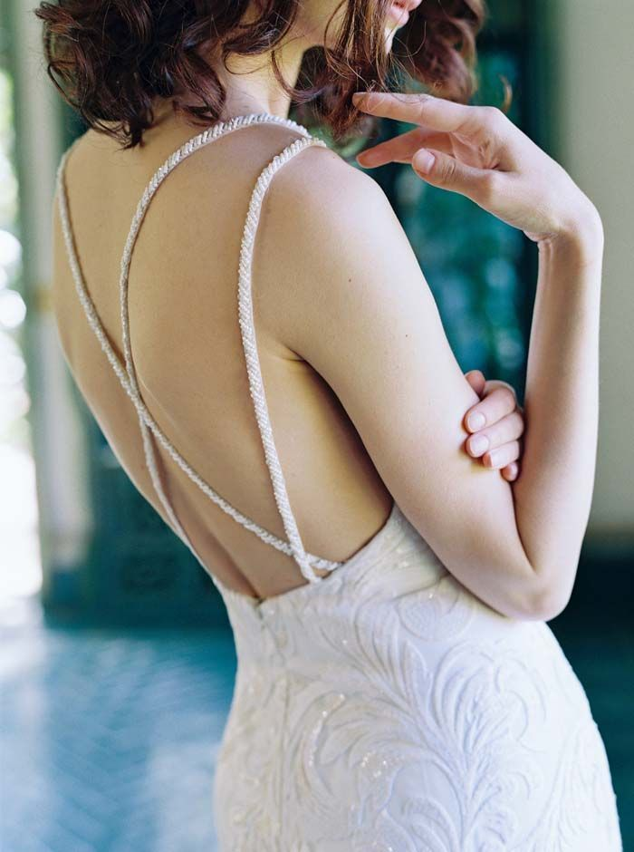 15 Perfect Wedding Dresses Fit And Flare #Excellent #Simple #WeddingDresses
