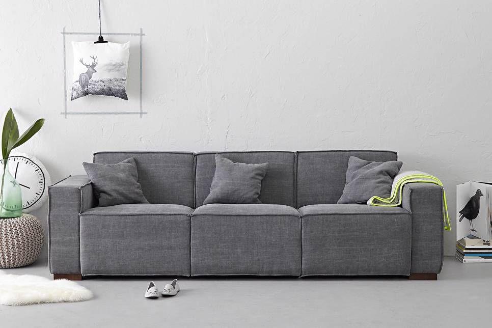 Wehkamp Leren Bank.Whkmp S Own 3 Zitsbank Davin In 2019 Wonen Bench Furniture Home