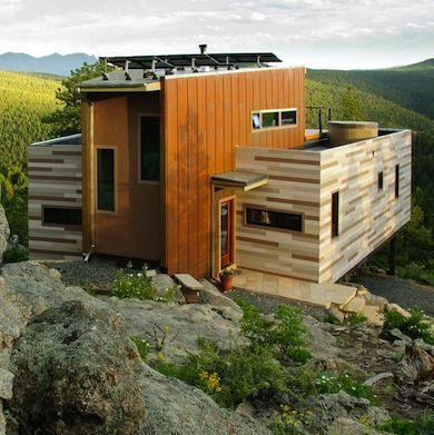 Container Made And Solar Powered This Colorado Retreat Gives New