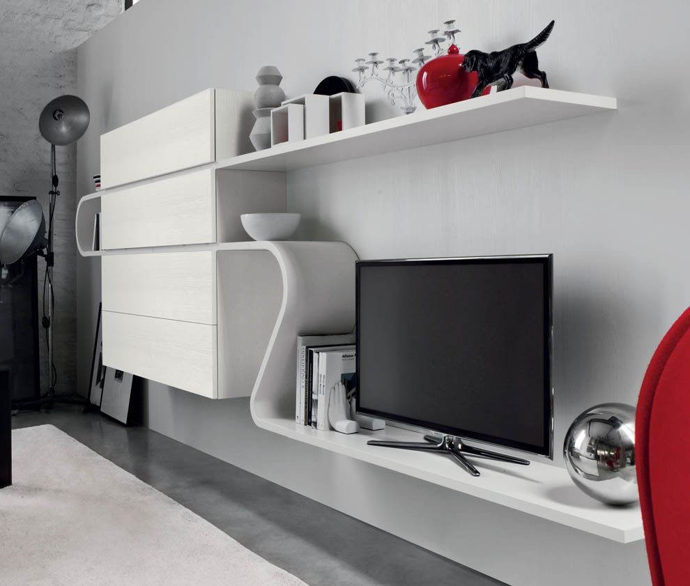 Novamobili Wave Wall Unit 219 | Modern Wall Units U0026 Modern Furniture