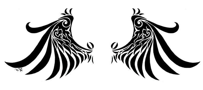 Il Popolare Tatuaggio Degli Adolescenti Ali D Angelo Modelli E