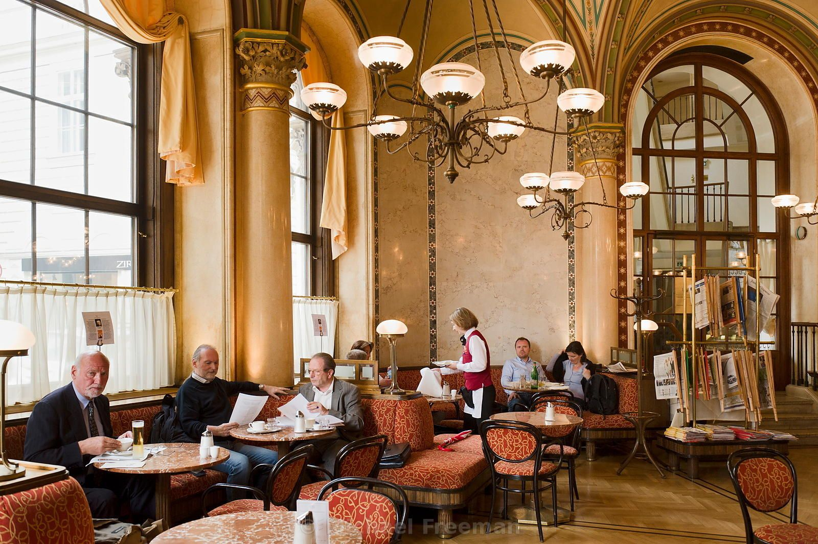 Michael Freeman Photography Coffee House Vienna Cafe Coffee Facts