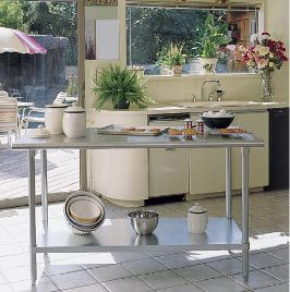 Been Secretly Dreaming Of A Stainless Steel Kitchen Work Table