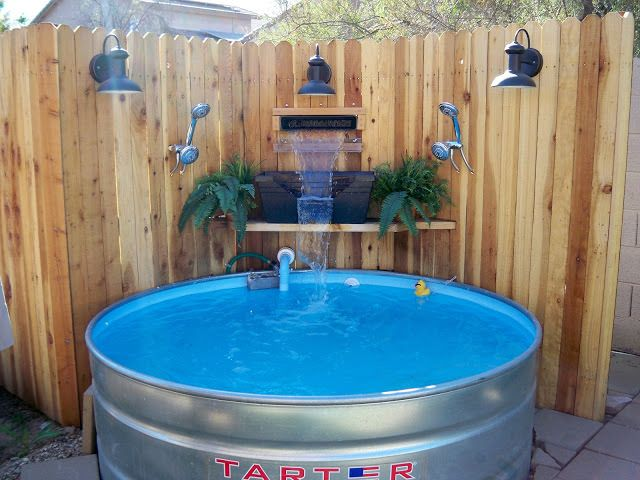 Stay Cool With A Diy Stock Tank Pool Re Scape Exteriors