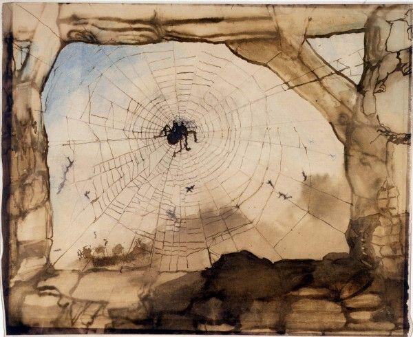 Victor Hugo - Vianden à travers une toile d'araignée-1871 (avec images) | Toile d'araignée, Les ...