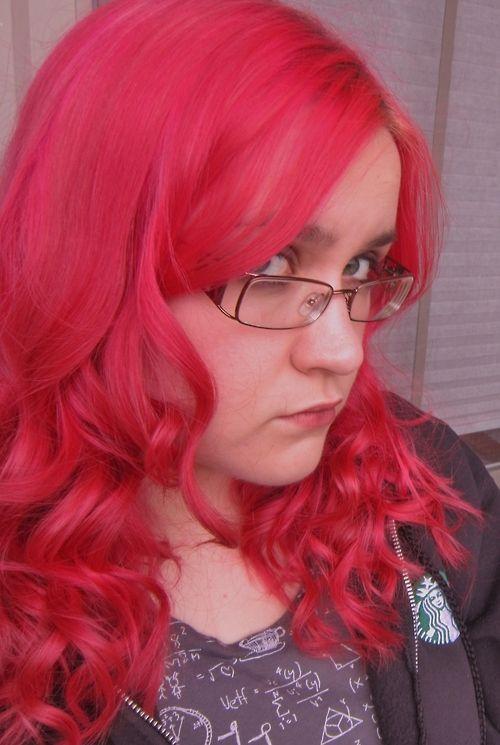 Atomic Pink by Special Effects. Four weeks after dying my hair,...