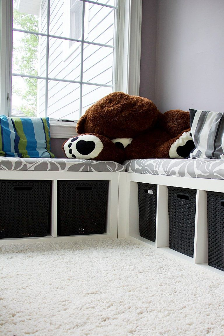 Playroom With Kids Toy Storage Ideas Organizingkidstoys Storage Kids Room Toy Rooms Small Playroom Organization #toy #storage #solutions #for #living #room