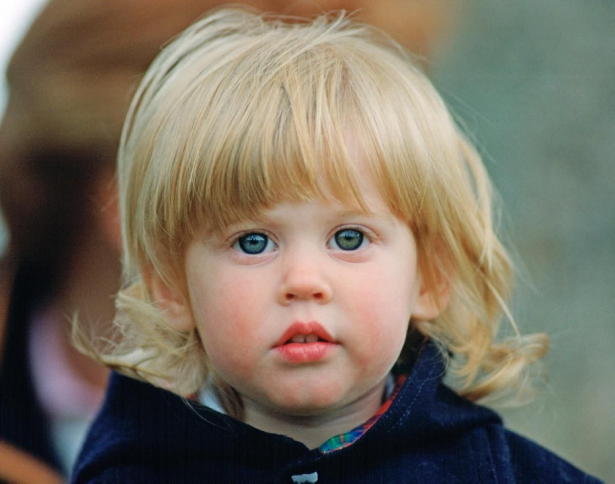 Princess Beatrice, daughter of Prince Andrew and Sarah, Duchess of York, was born on Aug. 8, 1998. Prince William's cousin, known for the eccentric and wacky fascinator she wore to Will and Kate's nuptials, is seen here at the Royal Windsor Horse Show in 1990. Her parents divorced in 1996.