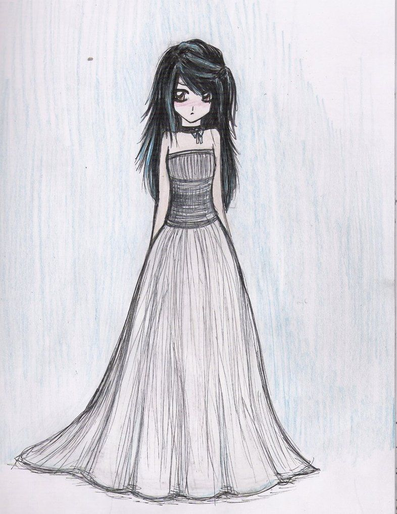 dresses drawings dress sketch by beckaneechan on