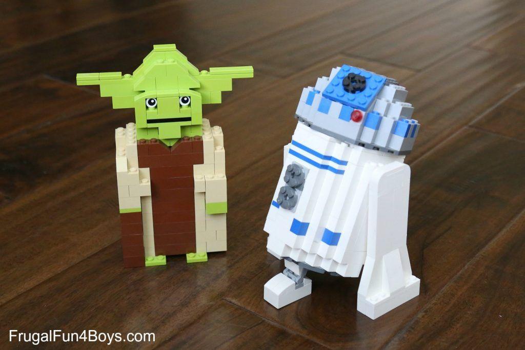 Lego Star Wars Yoda Building Instructions Lego Building And Legos