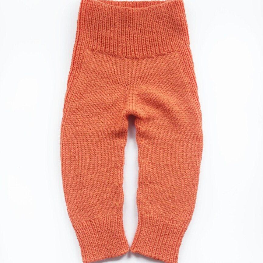 d5a880878cc7 Merino wool baby knit pants