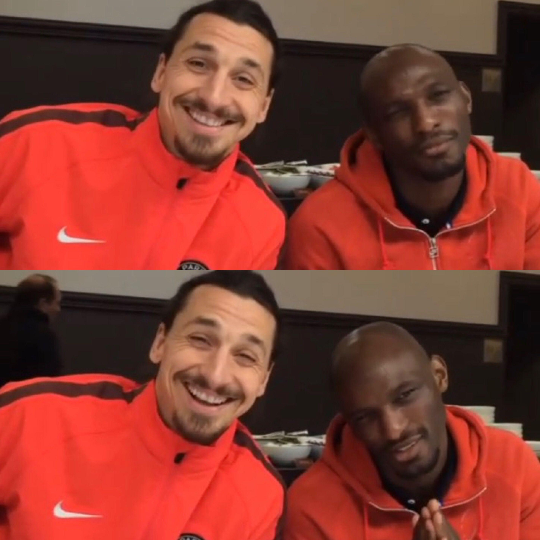 zlatan's laugh is the best Futebol