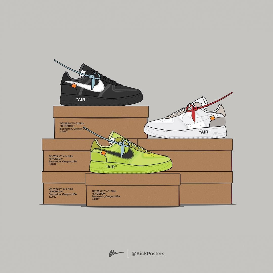 Dan Freebairn Kickposters On Instagram Which Is The Best Off White Af1 Colorway Virgil In 2020 Nike Wallpaper Sneakers Wallpaper Nike Wallpaper Iphone