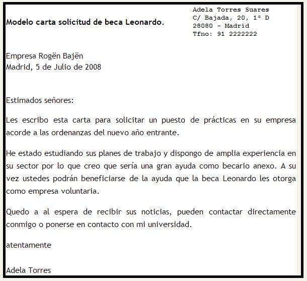Modelo De Una Carta De Solicitud De Programa Buscar Con Google Spanish Writing Ap Spanish Writing