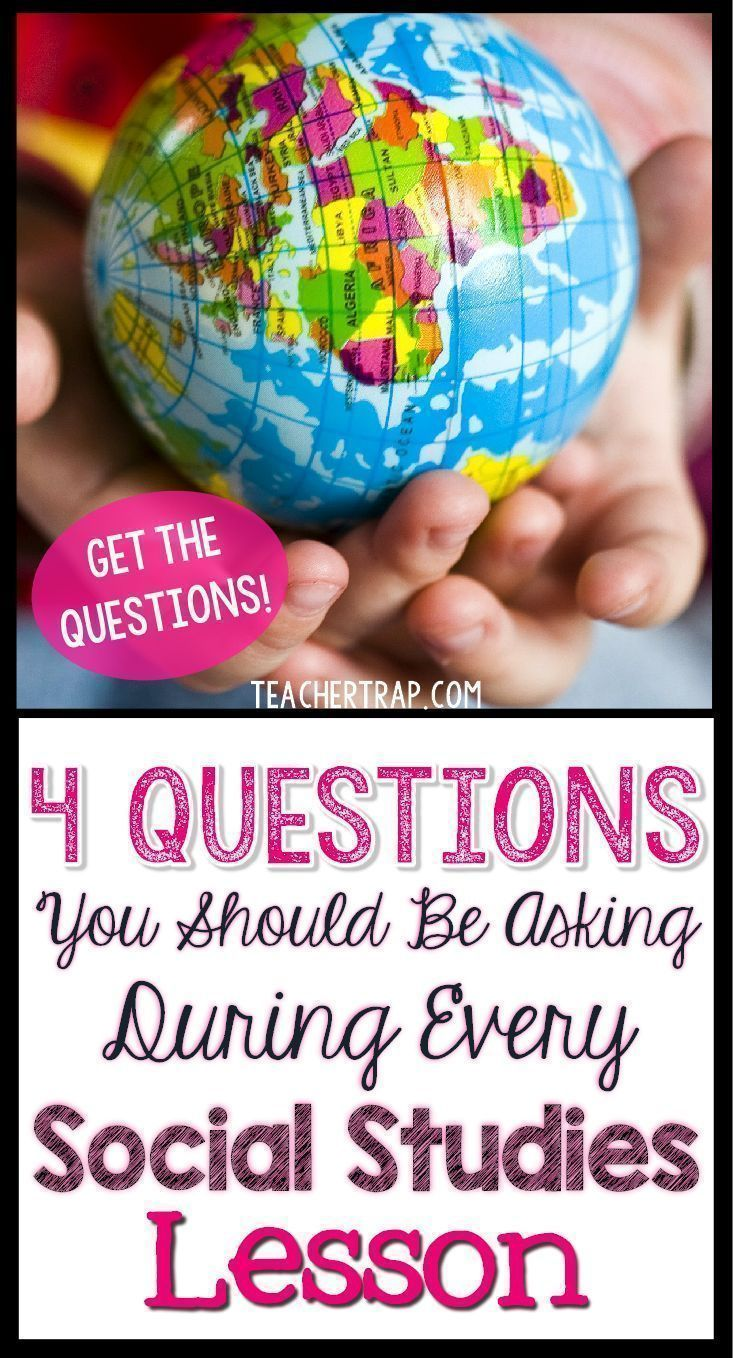 The 4 Questions You Should Ask During EVERY Social Studies Lesson