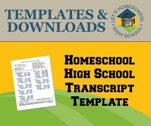 download free homeschool high school transcript template