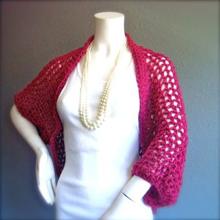 PATTERN PLUS SIZE CROCHET SHRUG | Free Crochet Patterns | Hooked on ...