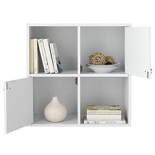 Buy Boston Basic 2 Half Doors Modular Box - White at Argos.co.uk  sc 1 st  Pinterest & Buy Boston Basic 2 Half Doors Modular Box - White at Argos.co.uk ...