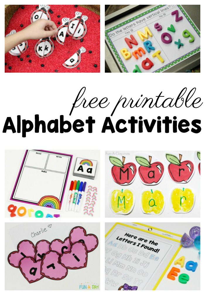 50+ Free Preschool Printables for Early Childhood Classrooms | Fun-A ...