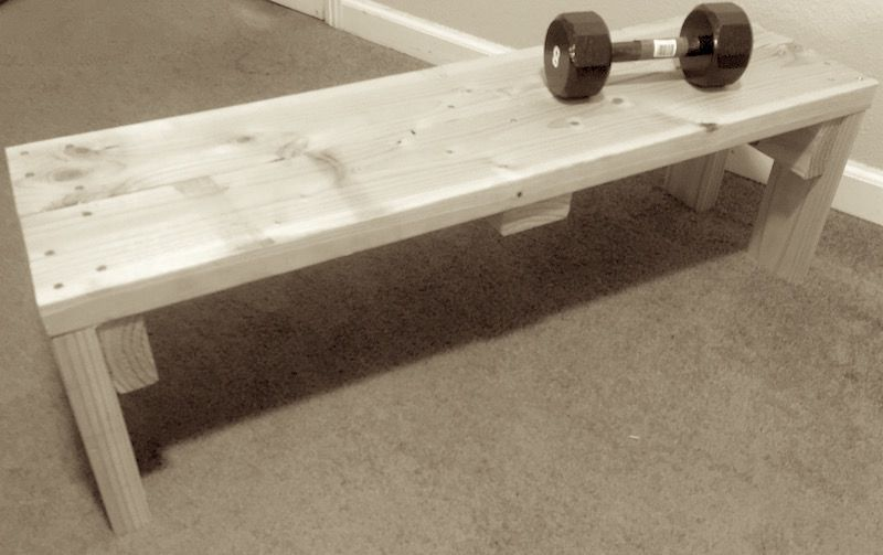 Awesome Wooden Weightlifting Bench Do It Yourself Project Home Gym Theyellowbook Wood Chair Design Ideas Theyellowbookinfo