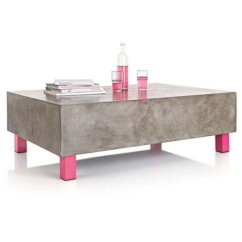 Couchtisch in grau/pink bei IMPRESSIONEN Product Design