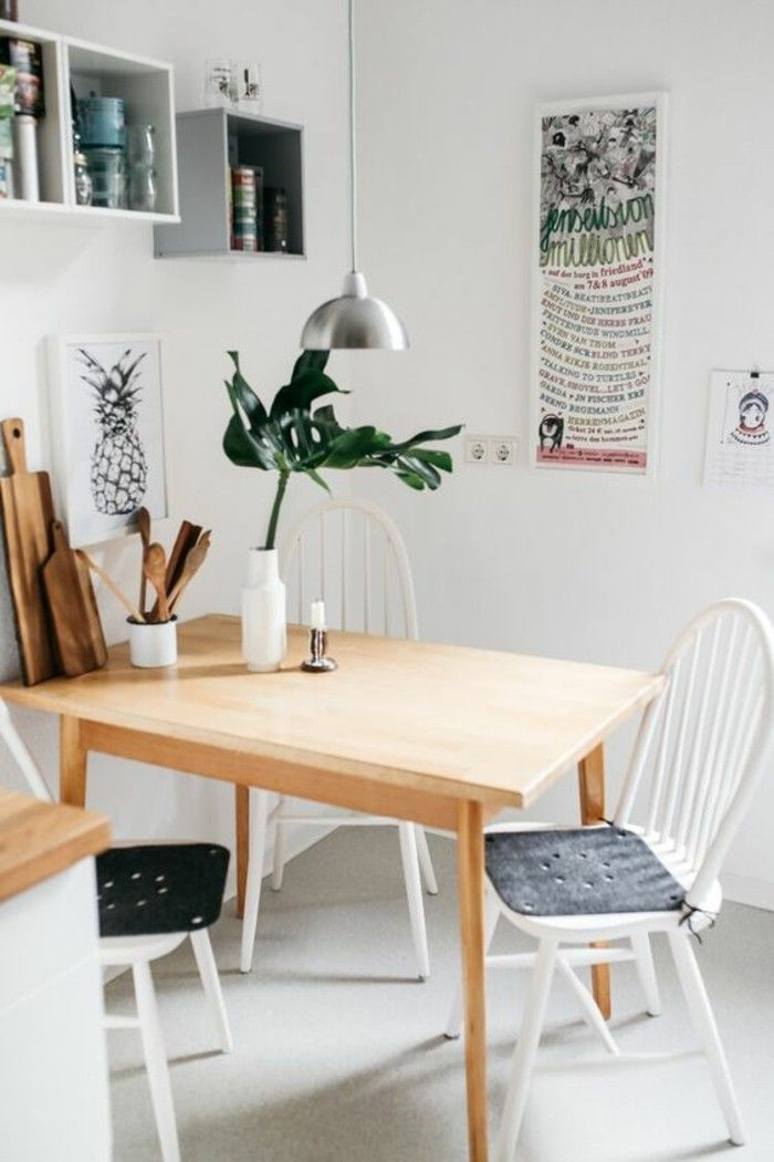Quelle Déco Salle à Manger Choisir Idées En Photos Tables - Table salle a manger soldes pour idees de deco de cuisine